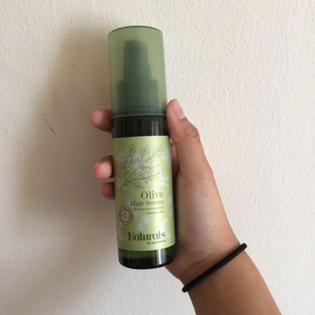 Olive hair serum