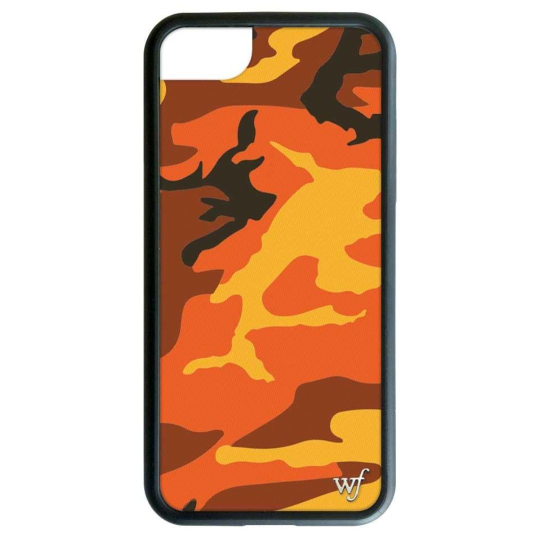 quality design 40396 03593 Orange Camo iPhone 6/7/8 Wildflower case