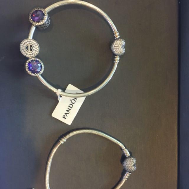 Original Pandora Bangle & Bracelet