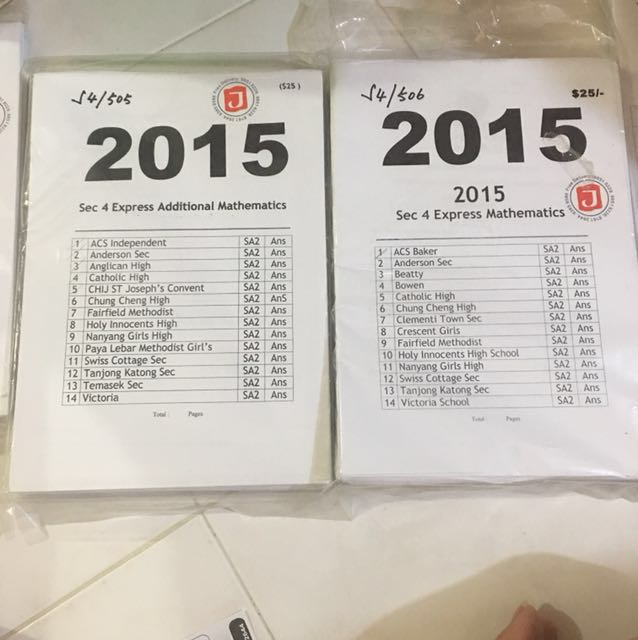 Pass year paper sec 4 2015 books stationery textbooks on carousell photo photo photo photo fandeluxe Images