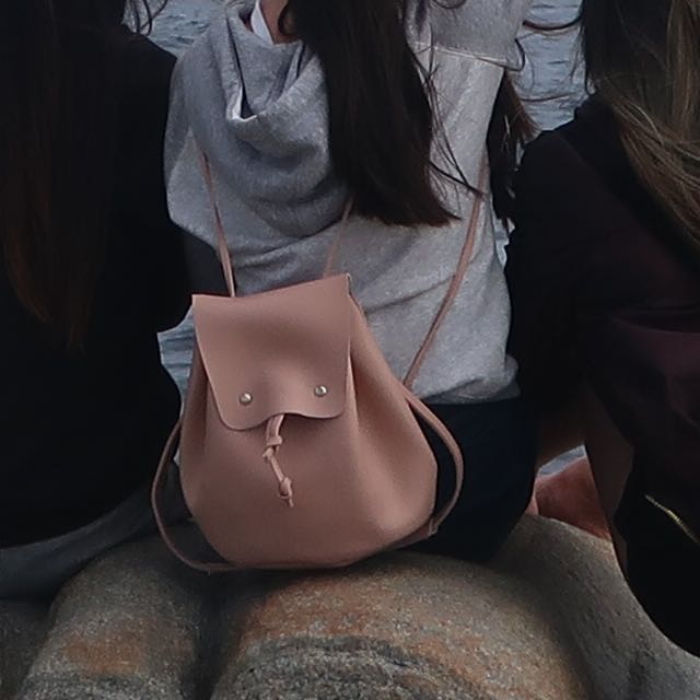 Pink blush backpack