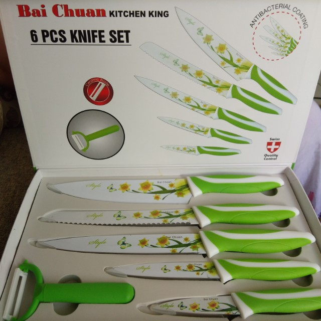 Pisau keramik / pisau set / pisau dapur / pisau bunga