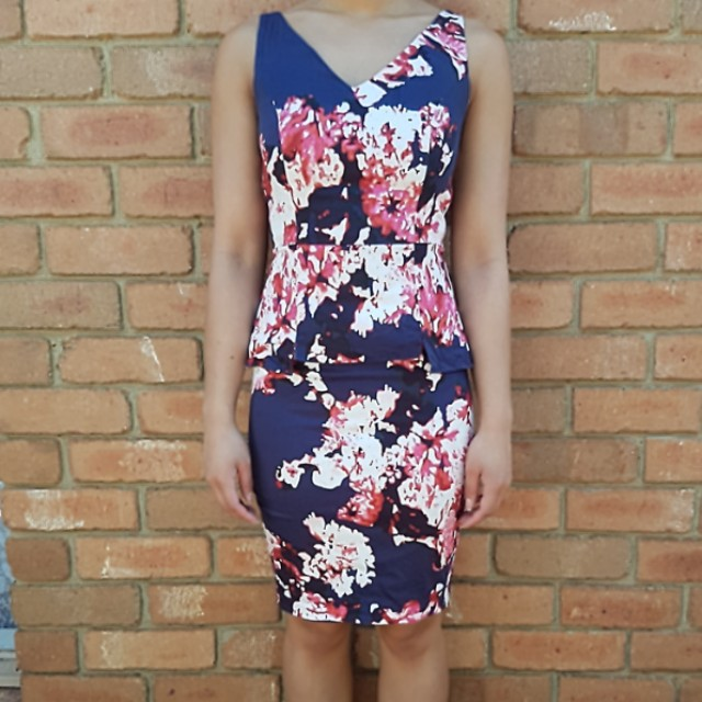 Portmans Floral Print Dress