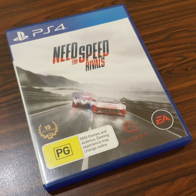 PS4 Game - Need For Speed Rivals (FREE Postage) on Carousell