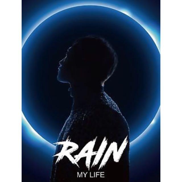 Rain [Bi Jung Ji Hoon] - My Life 爱CD + Booklet + Standing Paper
