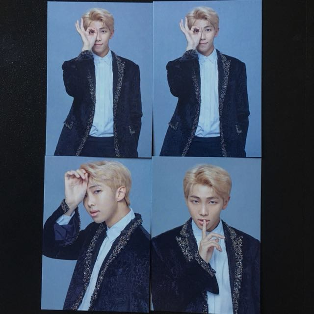 Ready Stock BTS The Wings Tour The Final Mini Photocard RM