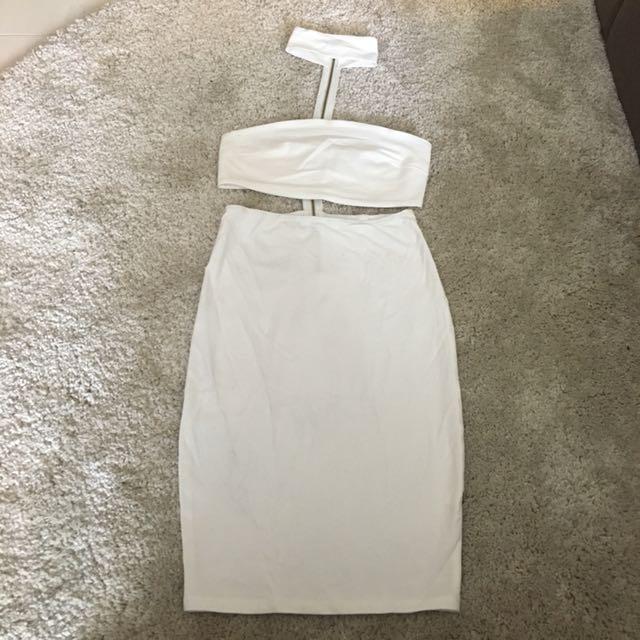 Reverse Choker Dress (S)