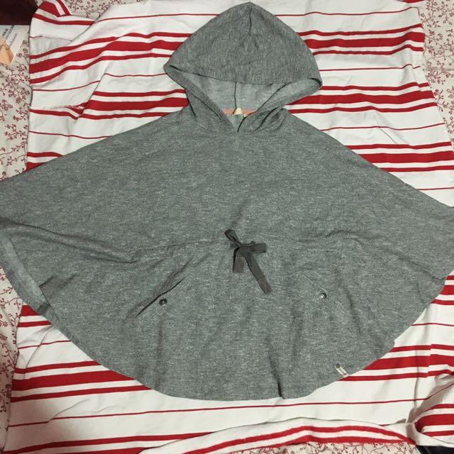 Roxy全新斗篷上衣 腰有綁帶/有口袋