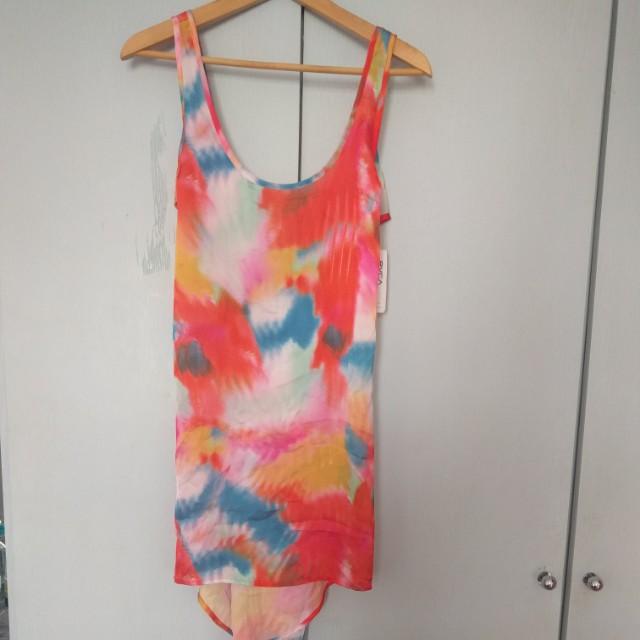 06625ec532 RVCA rainbow beach cover up, Women's Fashion, Clothes, Dresses ...