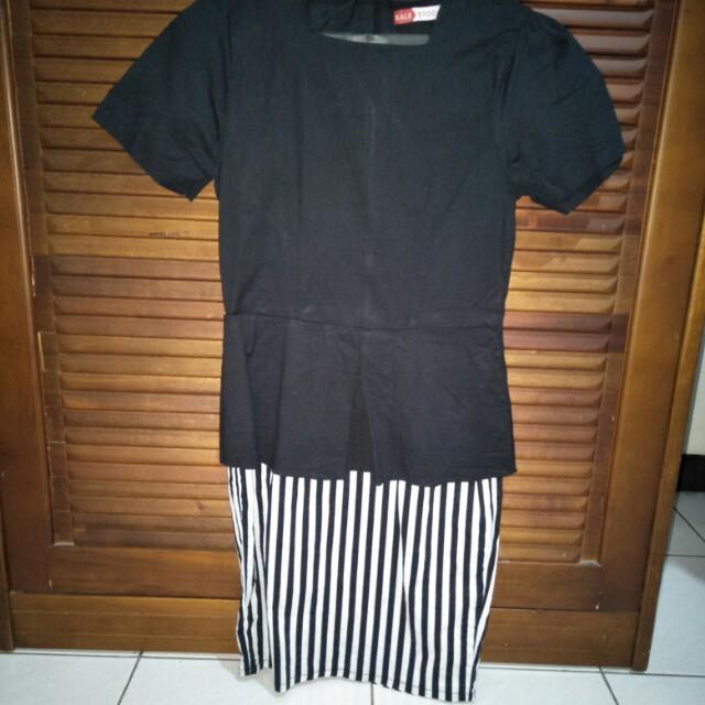 Salestock Peplum Dress