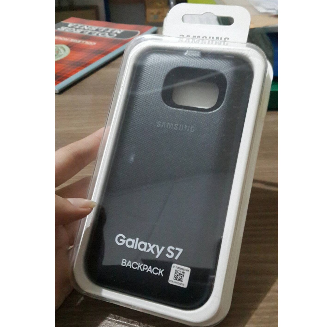 new products a7d8f 78713 Samsung S7 Flat Wireless charging case Original, Mobile Phones ...