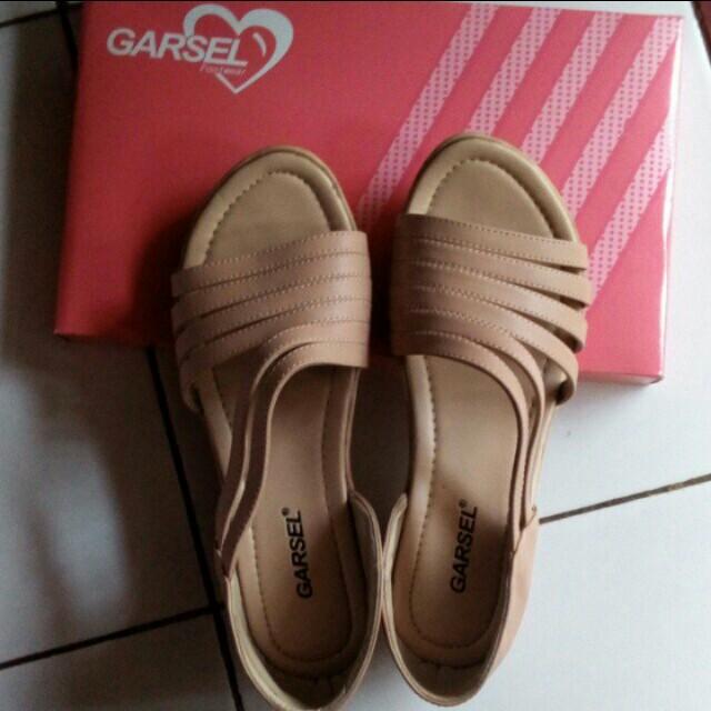 sandal sepatu garsel ORI
