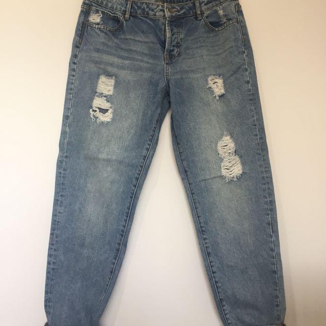 SEED boyfriend jeans, 12