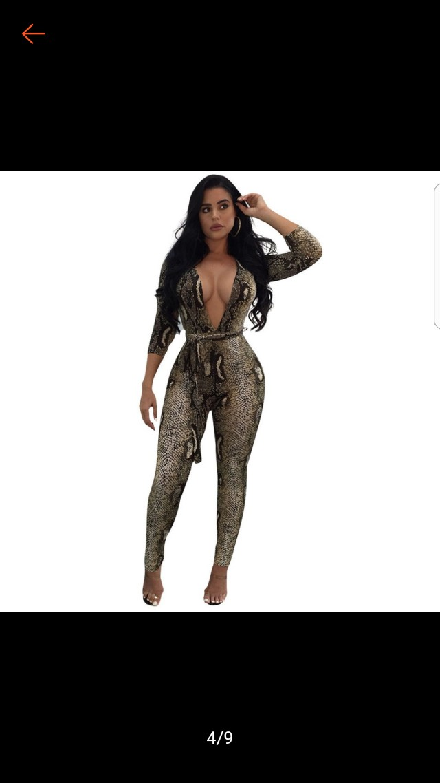 Sexy Fashionnova Jumpsuit Romper Womens Fashion Clothes Rompers