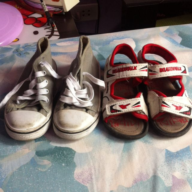 shoes and sandals for 2-3 yrs old