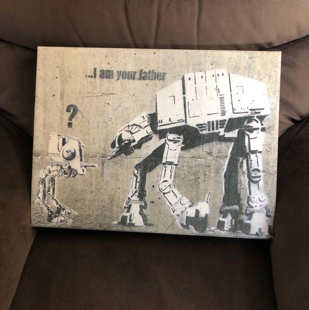 Star Wars Wall Art Canvas Print