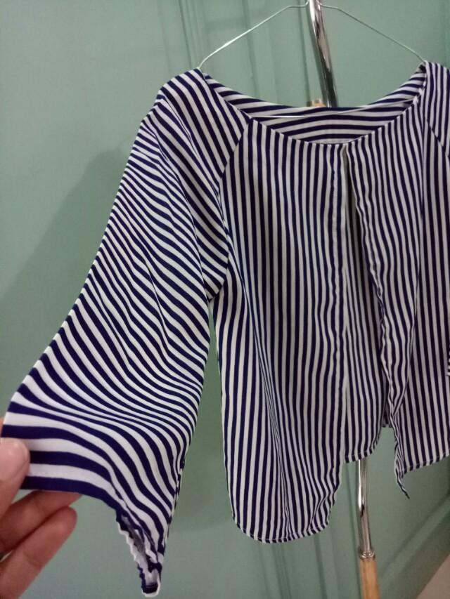 Strips blouse