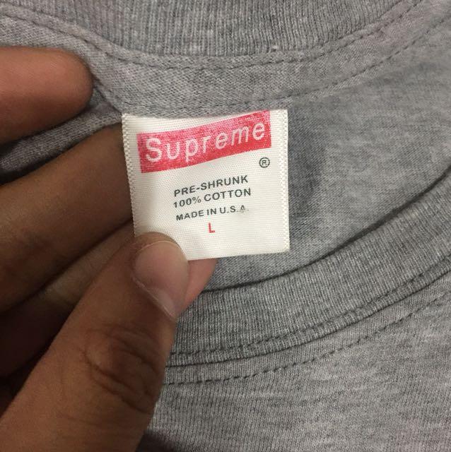 SUPREME shirt