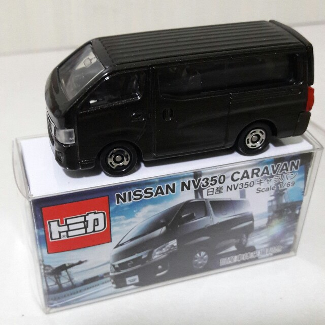 Tomica Retired Special Model Nissan Nv350 Black Caravan Comes With