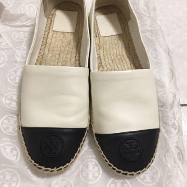 Toryburch 小羊皮鞋