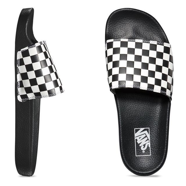 ed555c10814e Vans Checkerboard Slide On