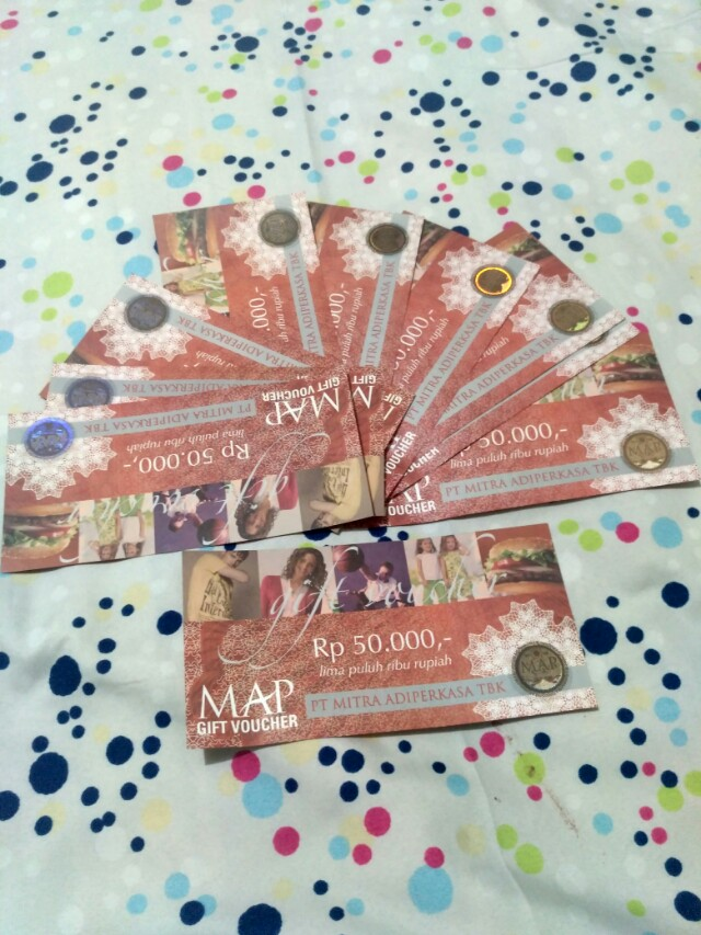 Voucher MAP 50rb