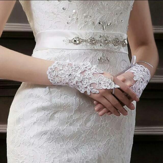 Wedding gloves / sarung tangan wedding