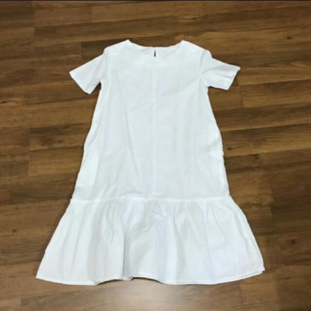 WHITE MERMAID DRESS (BEBAJUAN)