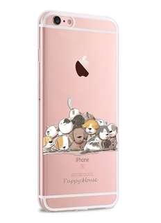 Apple iphone 6s、6s plus、 5s/SE  超薄透明邊 彩繪工藝 硅膠 手機軟殼  特價$80