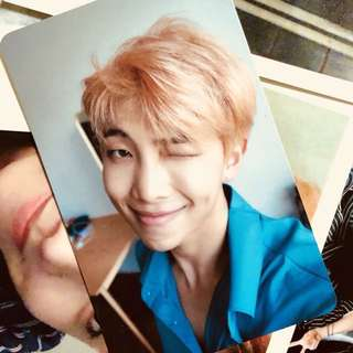 BTS Love Yourself L Ver RM Photocard