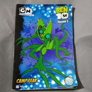 Ben10 Season 2 - Camp Fear