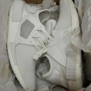 Original ADIDAS NMD XR1 Triple White UK 9
