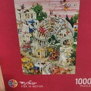 Heyes- Pisa in motion puzzle (1000 pcs)