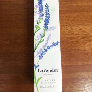 Brand New Crabtree & Evelyn Lavender Body Lotion
