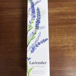 Brand New Crabtree & Evelyn Lavender Bath & Shower Gel