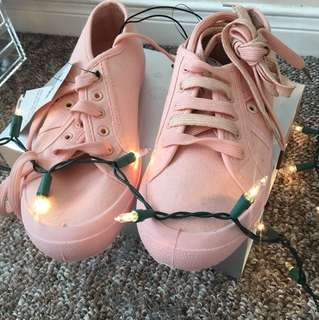 Pink Monochromatic Shoes