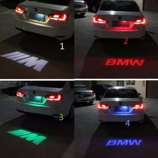 PROMO..... Car LED License Plate Light 12V LED Logo projection Laser Number Plate Lamp For BMW
