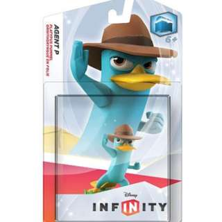 Disney Infinity Agent P ( Perry the Platypus from Phineas and Ferb ) Action Figures & Collectibles BNIB