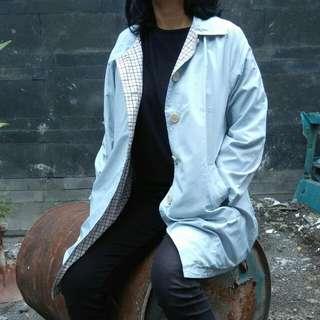 Blue Casual Jacket (unisex) DISKON