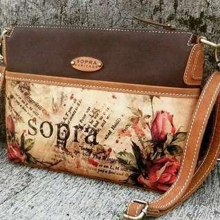 Tas SOPRA Heritage..tas selempang tas backpack tas fashion..prod bandung.