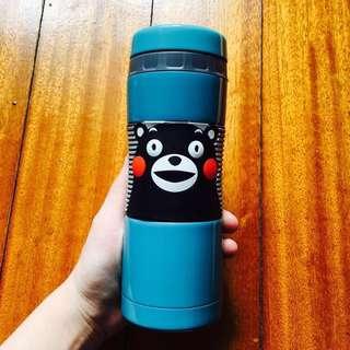 KUMAMON熊本熊保溫杯300ml(內有濾蓋)美華泰限定