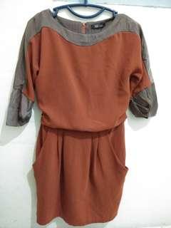 Semi formal long sleeve dress