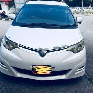 Toyota Estima Sambung Bayar