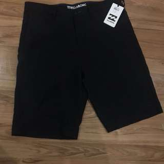 Billabong Black Shorts (Brand New)