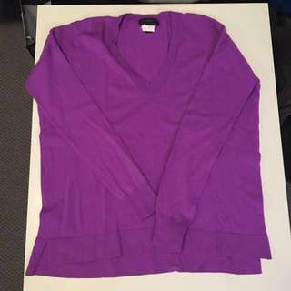 J Crew Wide cut drapey Merino Sweater XXS