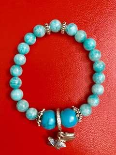 Stones/crystals/beads bracelet