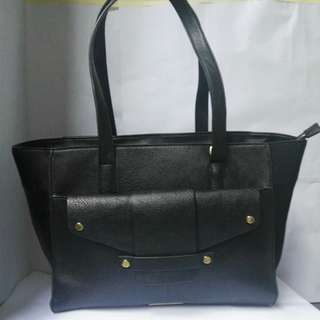 Tony Bianco Black Handbag