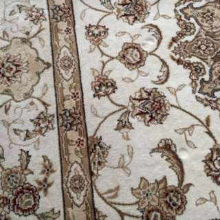 Silk carpet 5x7