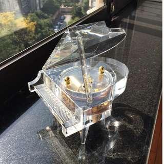 雷曼士 RHYMES 30 Note Crystal Grand Piano Music Box - Brand New*