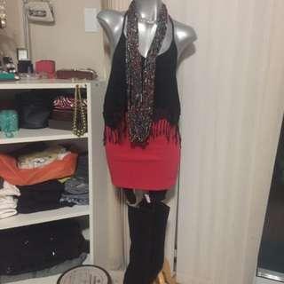 NWOT Fashion necklace/scarf from KENYA